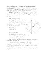 Loại 3 : Xác định số ảnh, vị trí ảnh của một vật qua gương phẳng? pptx