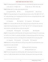PHÂN BIỆT MỘT SỐ CHẤT VÔ CƠ Câu 1: Chỉ dùng dung dịch KOH để phân biệt ppsx
