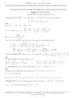 Một số bài tập hay về bất đẳng thức (luyện thi olympic toán học toàn miền nam lần thứ XVIII)