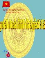Bài giảng điện tử lịch sử: Kinh đô của Văn lang pptx