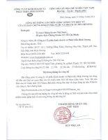 công ty cổ phần kinh doanh và phát triển bình dương  công bố thông tin trên cổng thông tin điện tử của ủy ban chứng khoán nhà nước sdgck tp hồ chí minh 31 tháng 3 năm 2014