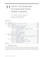 Analysis of Pesticides in Food and Environmental Samples - Chapter 11 pot