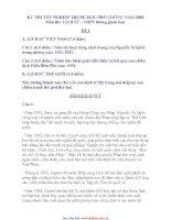 THI TỐT NGHIỆP TRUNG HỌC PHỔ THÔNG NĂM 2008 Môn thi: LỊCH SỬ - THPT không phân ban pptx
