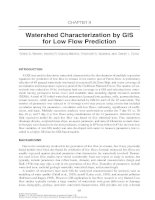 GIS for Water Resources and Watershed Management - Chapter 9 pptx