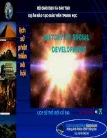 Bài giảng điện tử môn lịch sử: Lịch sử thế giới cổ đại pdf