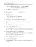 bản thuyết minh báo cáo tài chính tổng hợp cho năm tài chính kết thúc ngày 31 tháng 12 năm 2013 công ty cổ phần xi măng và khoáng sản yên bái