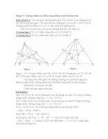 Dạng 5 : Chứng minh các điểm cùng thuộc một đường tròn pdf