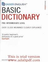 từ điển anh văn phiên bản 2_phần 1 potx