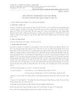 công ty cổ phần xi măng lạng sơn bản thuyết minh báo cáo tài chính cho năm tài chính kết thúc ngày 31 tháng 12 năm 2011