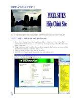 DREAWEAVER 8BÌA 10 NGÀY 15.8.2006 SOẠN SÁCH DREAMWEAVER 8 CỦA KS TRẦN VIỆT ANI.PIXEL pdf