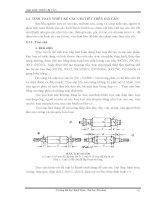 Giáo trình: THIẾT BỊ CÁN_ TÍNH TOÁN THIẾT KẾ CÁC CHI TIẾT TRÊN GIÁ CÁN pdf