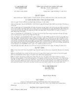 Quyết định số 35/2011/QĐ-UBND ppsx
