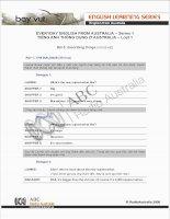 Tiếng Anh Dành Cho Người Mới Học: Mô Tả Vật pdf