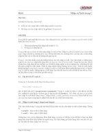 Bài 6 Mục tiêu: Kết thúc bài học này, bạn có thể:  Hiểu các hàm nhập xuất potx