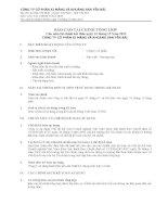 báo cáo tài chính tổng hợp cho năm tài chính kết thúc ngày 31 tháng 12 năm 2012 công ty cổ phần xi măng và khoáng sản yên bái