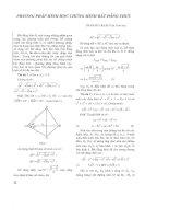 Phương pháp hình học chứng minh bất đẳng thức doc