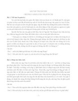 Bài tập tinh huống môn quản trị học