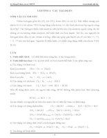 Tổng hợp hóa học vô cơ phổ thông tham khảo