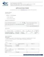 Internship Application Form doc