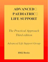 ADVANCED PAEDIATRIC LIFE SUPPORT - part 1 ppsx