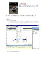 LAYOUT QUẢN LÝ CÁC CỬA SỔBÀI 5 NGÀY 3.8.2006 SOẠN THEO SÁCH KS TRẦN VIỆT pot