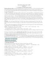 Giải bài tập hóa bằng phương pháp quy đổi (có ví dụ và bài tập áp dụng)