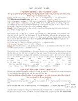 Các định luật bảo toàn nguyên tố  Bảo toàn khối lượng hóa học (có ví dụ và bài tập áp dụng)