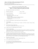 báo cáo tài chính tổng hợp 9 tháng đầu của năm tài chính kết thúc ngày 31 tháng 12 năm 2013 công ty cổ phần xi măng và khoáng sản yên bái