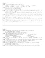 Đề kiểm tra Chương 1 - Sự Điện Ly Hóa 11