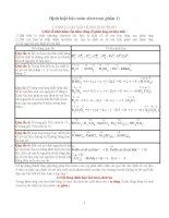 Các định định luật bảo toàn electron (có ví dụ hướng dẫn và bài tập áp dụng)