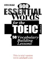 barron''''s 600 essential words for the toeic_part1 docx