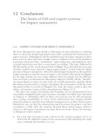 Expert Systems and Geographical Information Systems for Impact Assessment - Chapter 12 (end) pot