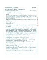 công ty cổ phần vật tư hậu giang thuyết minh báo cáo tài chính hợp nhất cho năm tài chính kết thúc ngày 31 tháng 12 năm 2011