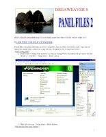 DREAWEAVER 8BÀI 12 NGÀY 16.8.2006 SOẠN SÁCH DREAMWEAVER CỦA KS TRẦN VIỆT ANI.LÀM pdf