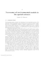 Environmental Modelling with GIs and Remote Sensing - Chapter 2 pps