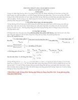 PHƯƠNG PHÁP TĂNG GIẢM KHỐI LƯỢNG TRONG HÓA HỌC (có ví dụ và bài tập áp dụng)