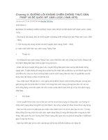 Chương III. Đường Lối Kháng Chiến Chống Thực Dân Pháp Và Đế Quốc Mỹ Xâm Lược (1946-1954) docx
