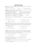 ĐỀ KIỂM TRA HỌC KÌ MÔN: VẬT LÍ 12- ĐỀ 001 ppsx