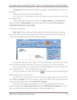 GIÁO TRÌNH Tìm hiểu Microsoft Word 2007 phiên bản tiếng việt(Lê Văn Hiếu) - 6 pptx