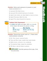 treasures grammar and writing handbook grade 2 phần 2 potx