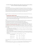 cân bằng phương trình hóa học bằng máy tính cầm tay fx 500 và fx570 và các đời máy có giải hệ 3 ẩn 3 phương trình