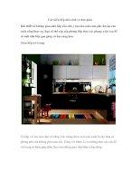 Các kiểu bếp nhỏ xinh và đơn giản pdf