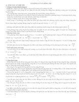 vật lý 12 sóng âm và sóng cơ
