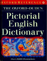 pictorial english dictionary phần 1 ppt