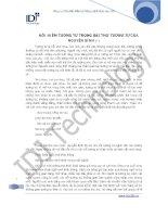 NỖI NIỀM TƯƠNG TƯ TRONG BÀI THƠ TƯƠNG TƯ CỦA NGUYỄN BÍNH pdf