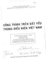 Công trình trên nền đất yếu trong điều kiện Việt Nam doc