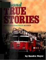 beyond true stories a high intermediate reader phần 1 doc