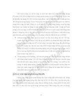 Nghiên cứu phát triển ứng dụng trên mạng không dây (Lê Văn Vinh vs Phan Nguyệt Minh) - 2 doc