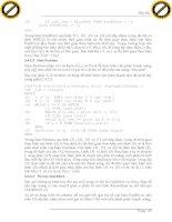 Giáo trình tổng hợp những hướng dẫn về phân tích và thiết kế các giải thuật lập trình cho máy tính phần 4 pot