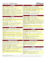 Các lệnh thông dụng trong ubuntu potx
